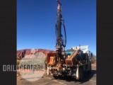 EVH 2100 drill rig on  2008 Isuzu FTS 800 4x4